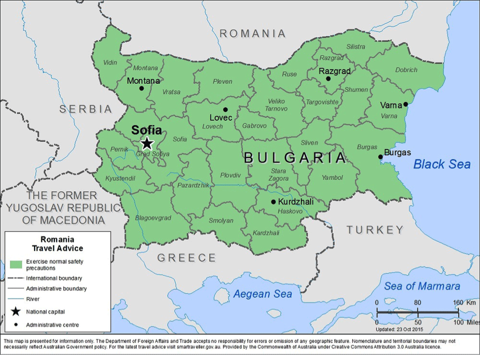 Bulgaria-Travel-Health-Insurance-Country-Review | AardvarkCompare.com