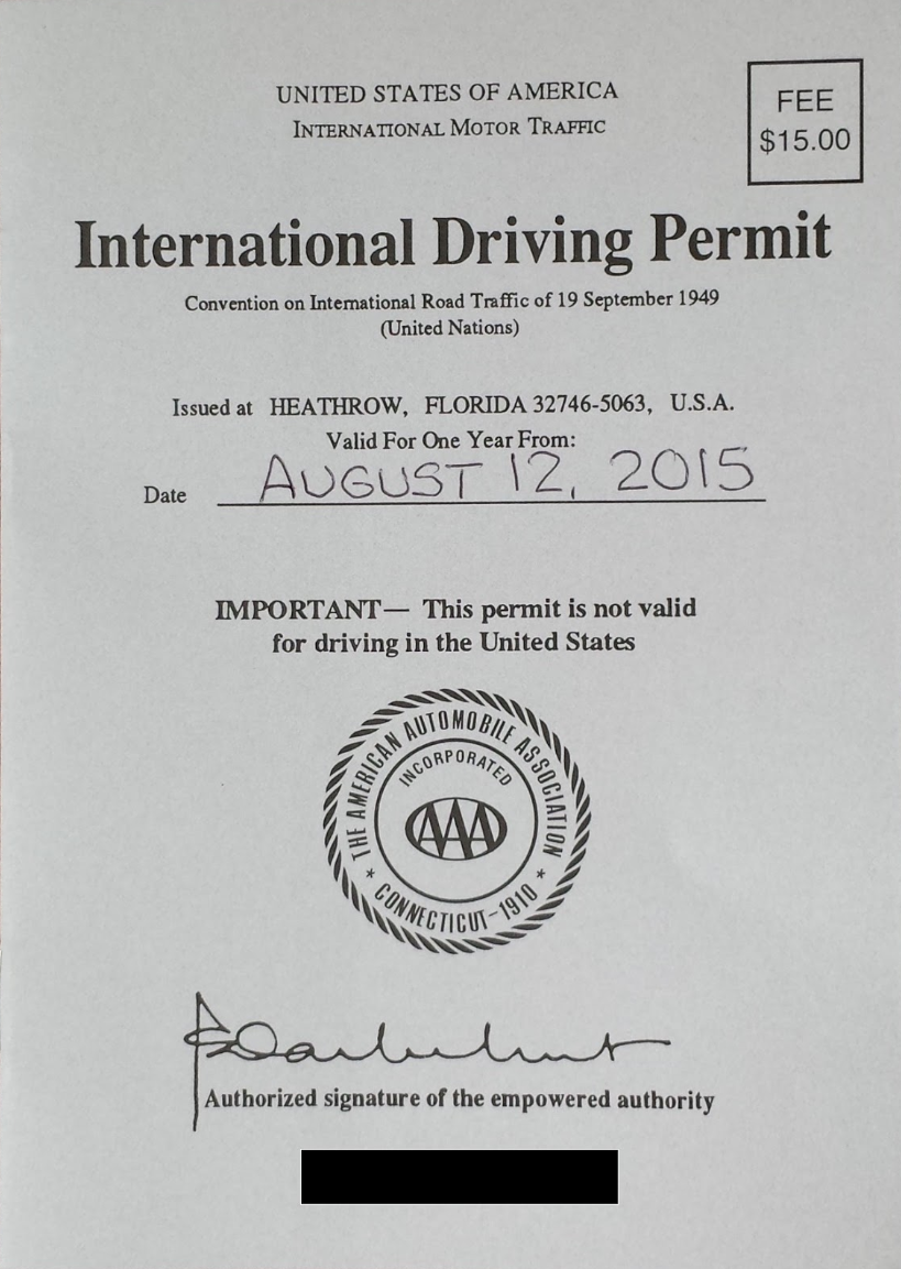International-Driving-Permit-Front-Page | AardvarkCompare.com