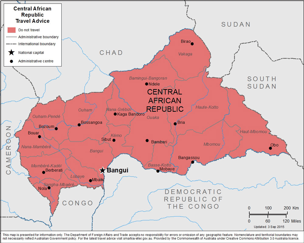Central African Republic Travel Health Insurance - Country Review