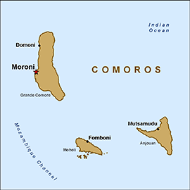 Comoros Travel Health Insurance - Country Review