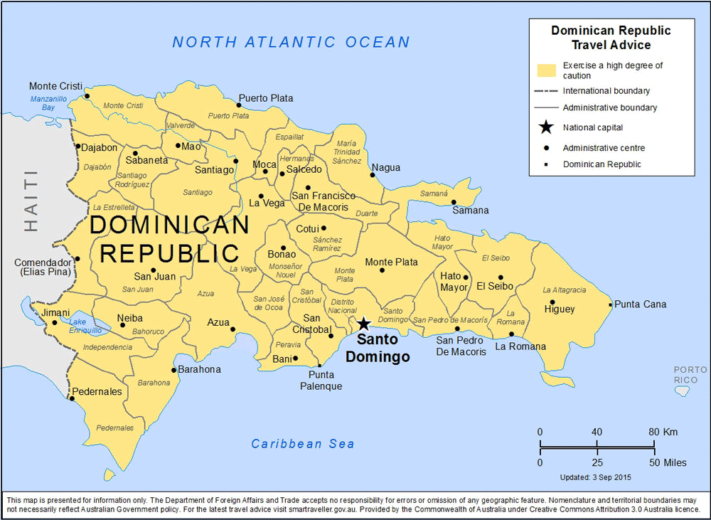 Dominican Republic Travel Health Insurance - Country Review