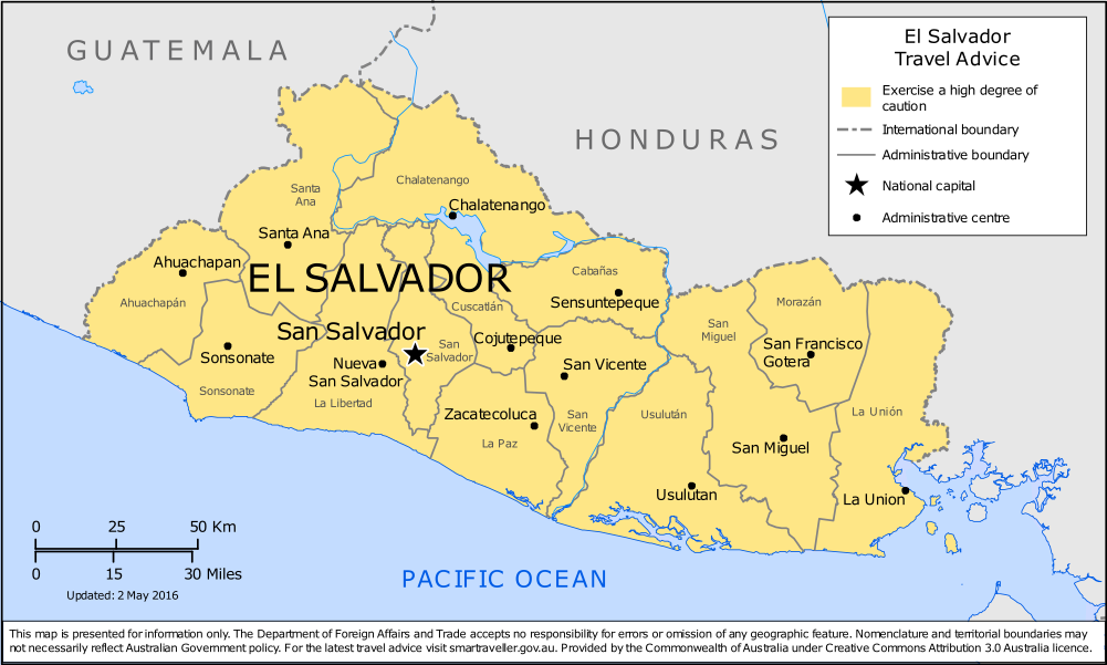 El Salvador Travel Health Insurance - Country Review