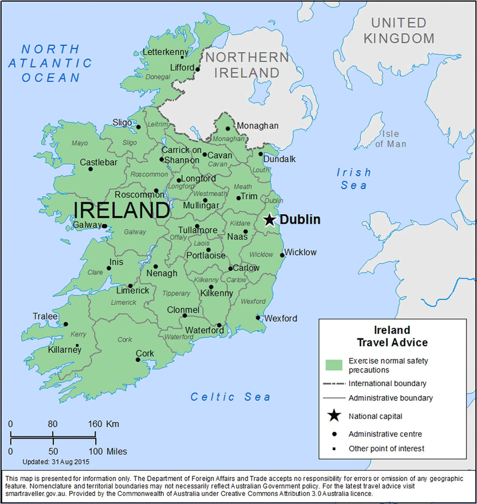 Ireland Travel Health Insurance - Country Review