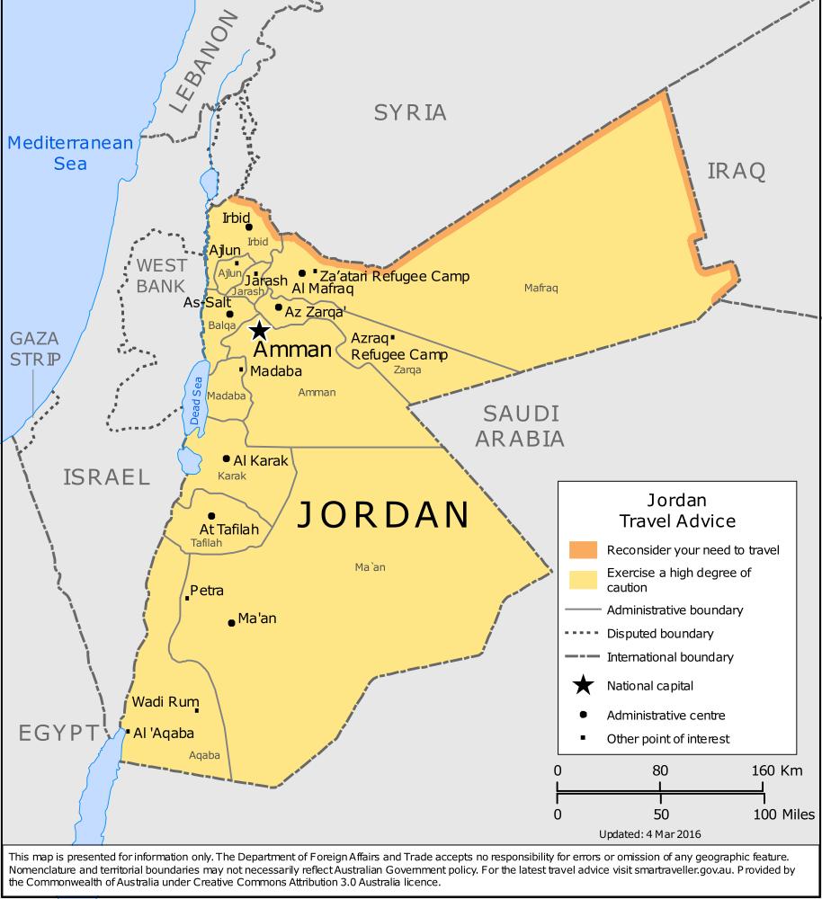 Jordan Travel Health Insurance - Country Review