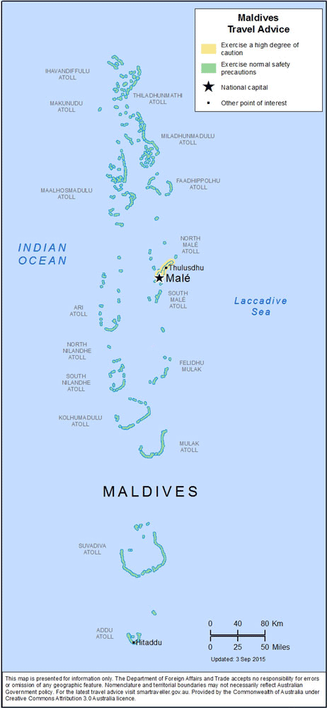 Maldives Travel Health Insurance - Country Review