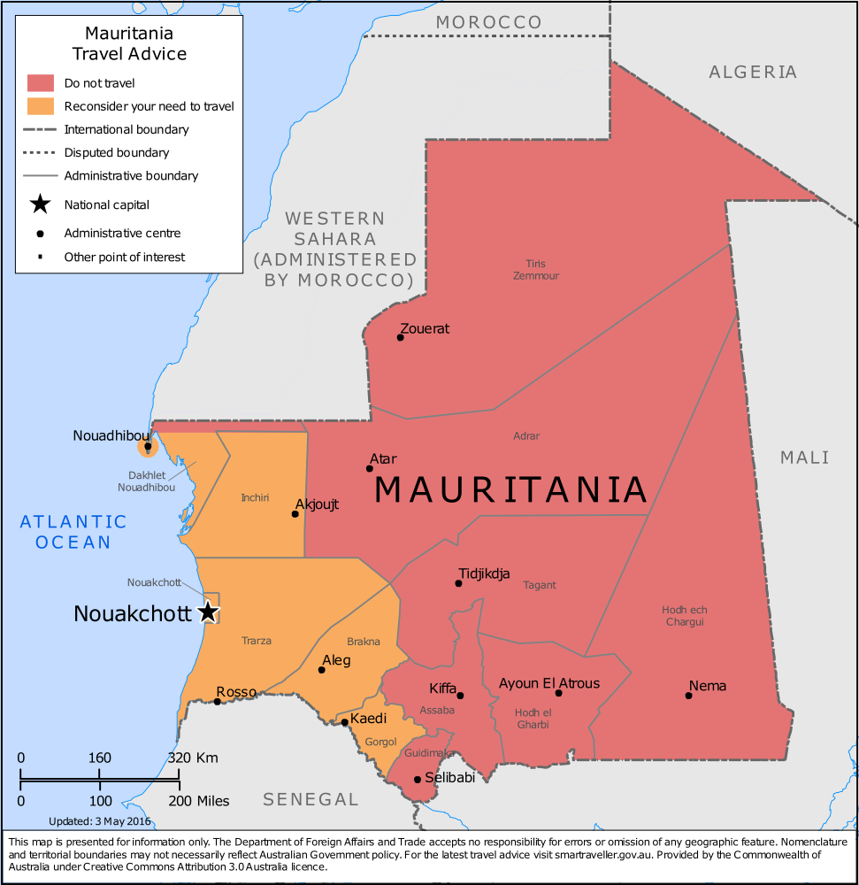 Mauritania Travel Health Insurance - Country Review