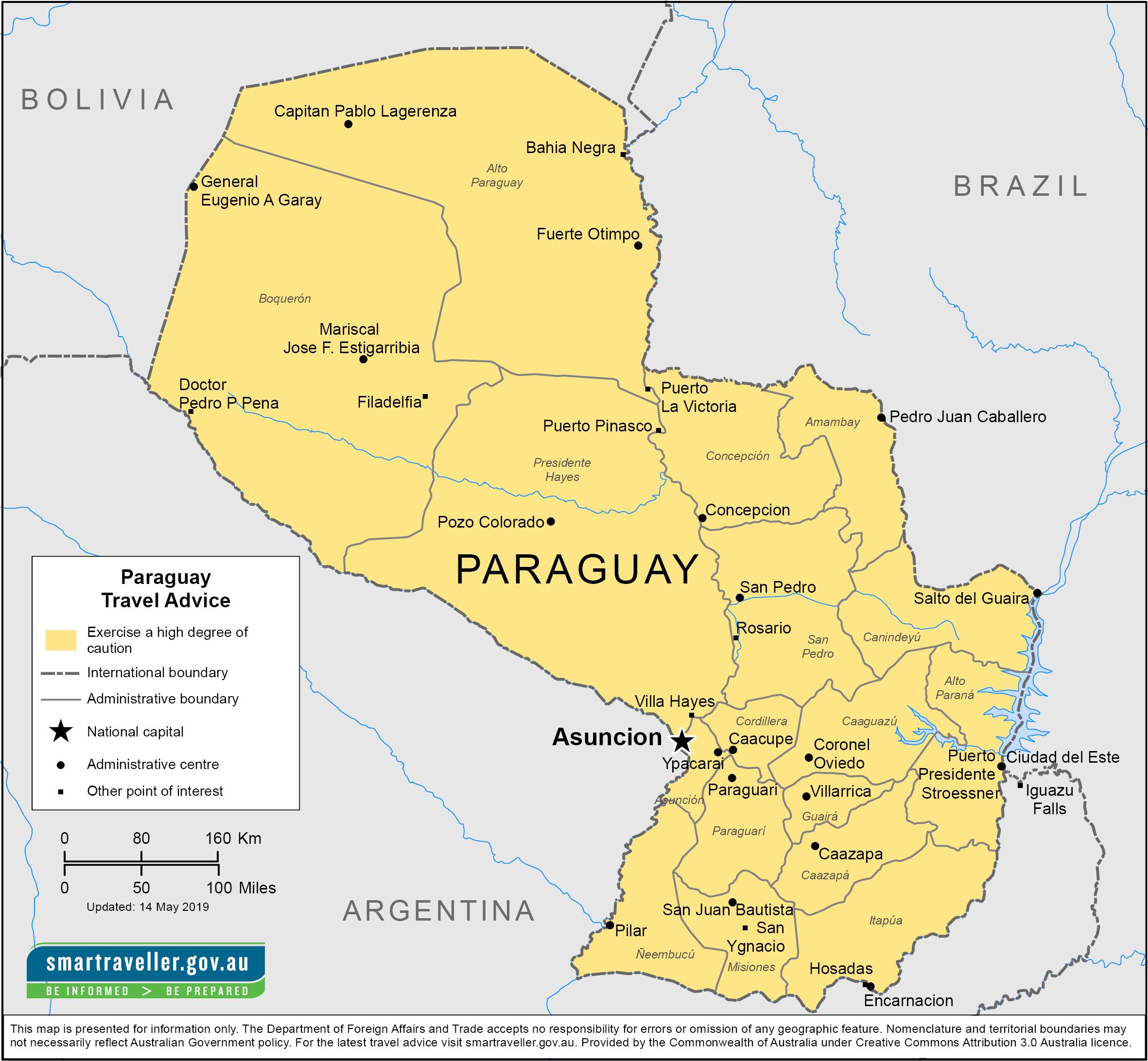 Paraguay-Travel-Insurance | AardvarkCompare.com