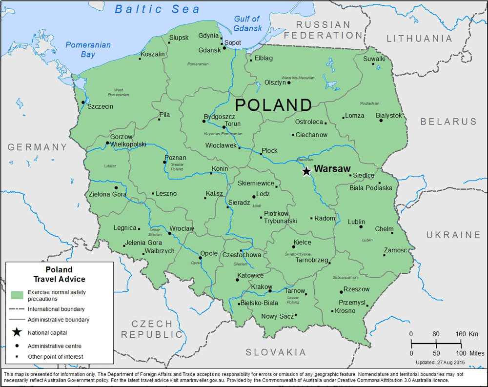Poland Travel Health Insurance - Country Review