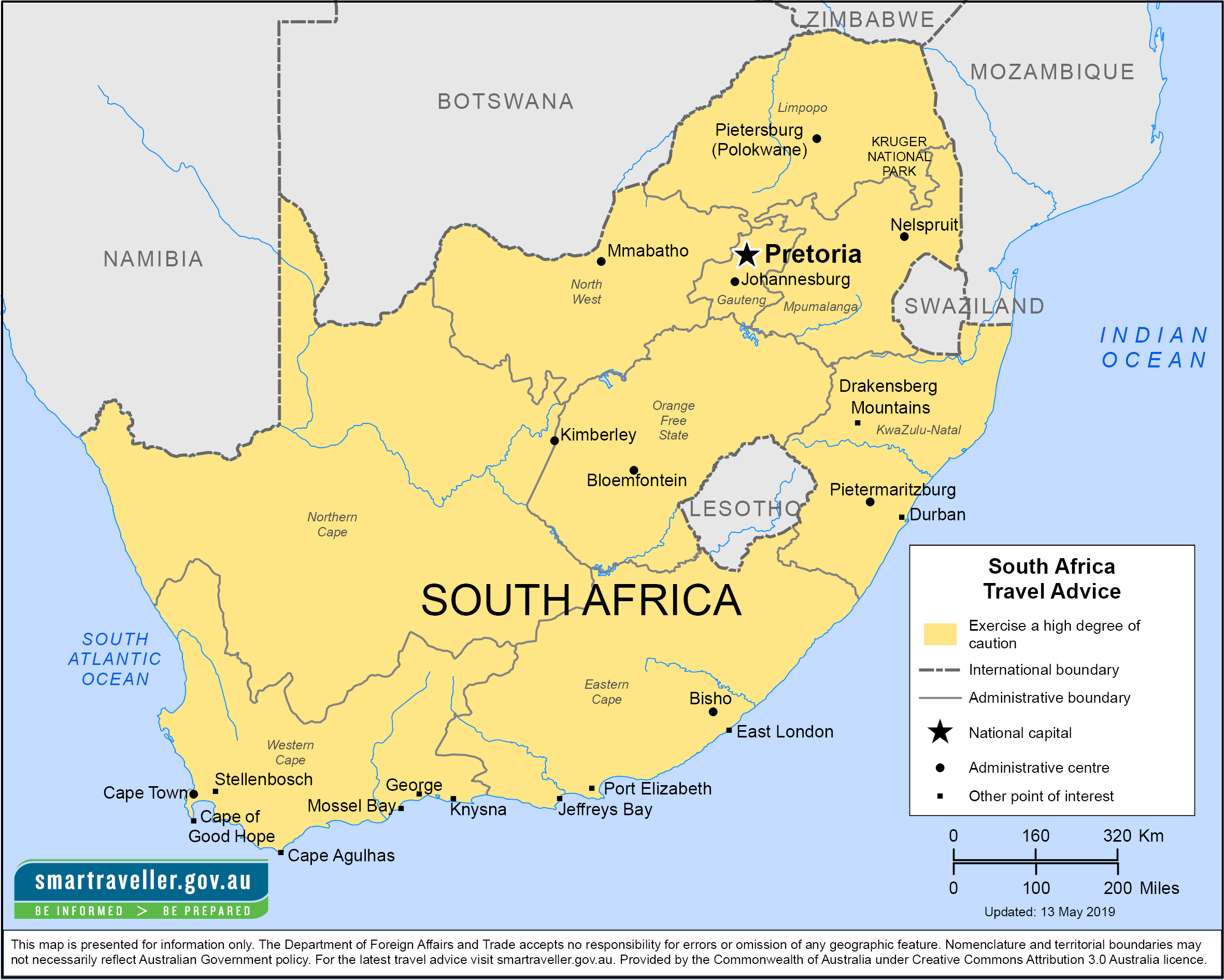 South Africa Travel Health Insurance - Country Review