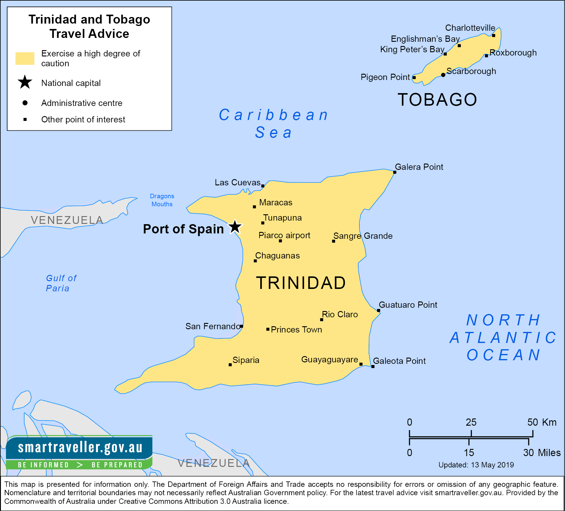 Trinidad and Tobago-Travel-Insurance | AardvarkCompare.com