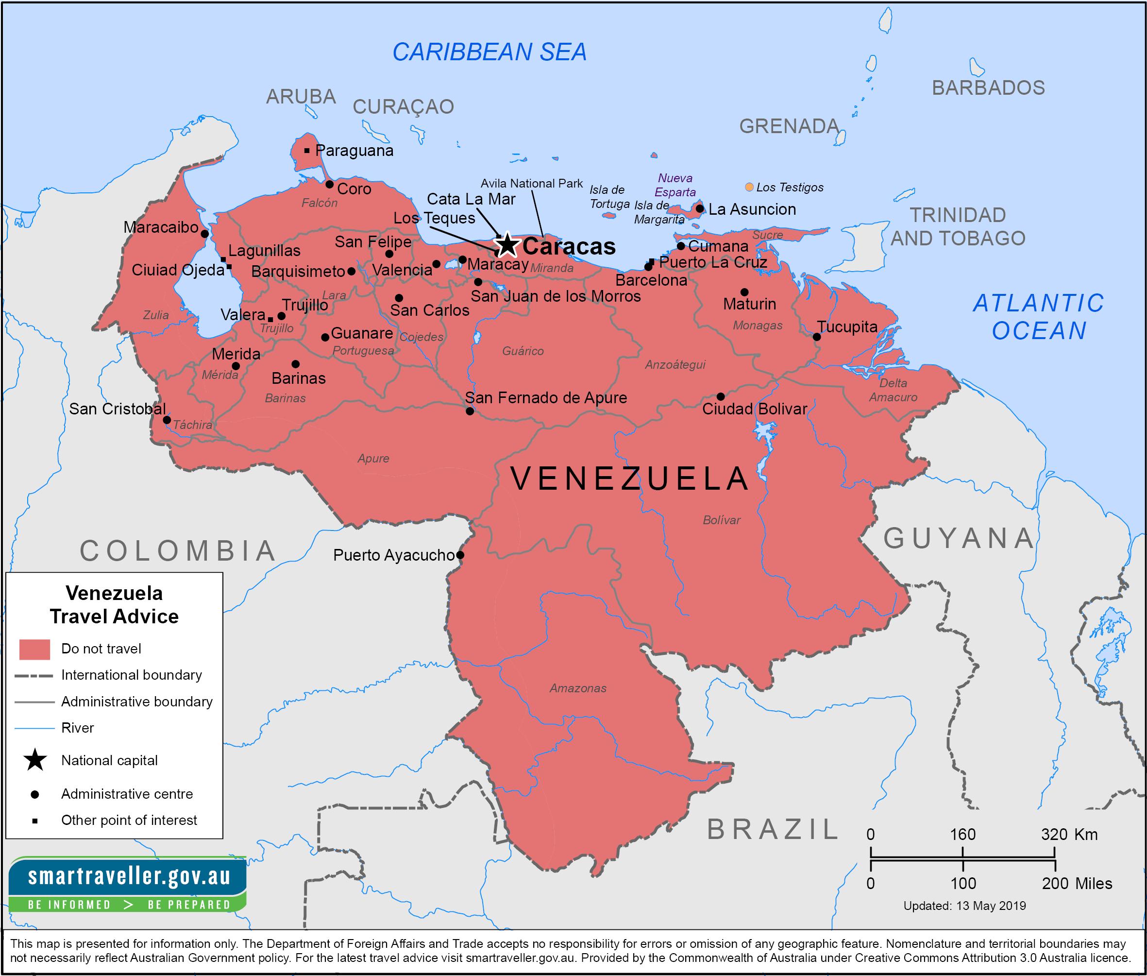 Venezuela Travel Health Insurance - Country Review