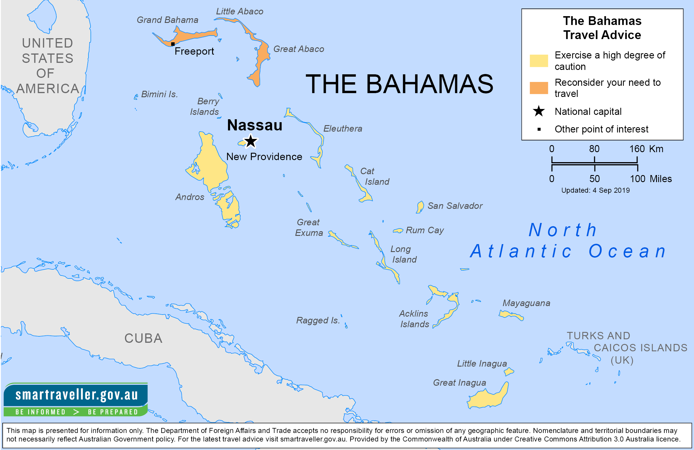 The Bahamas Traveler Information - Travel Advice