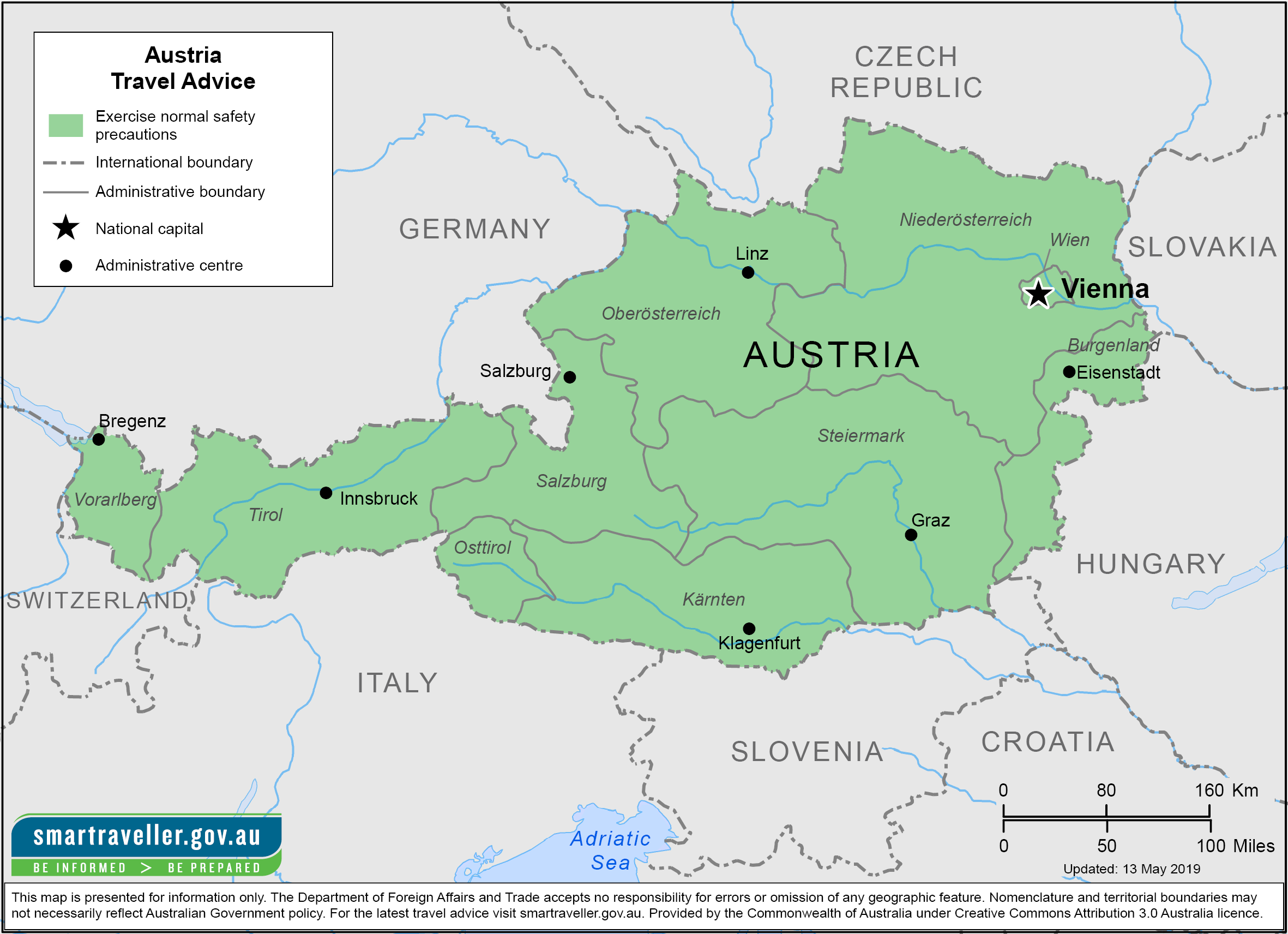 Austria Traveler Information - Travel Advice
