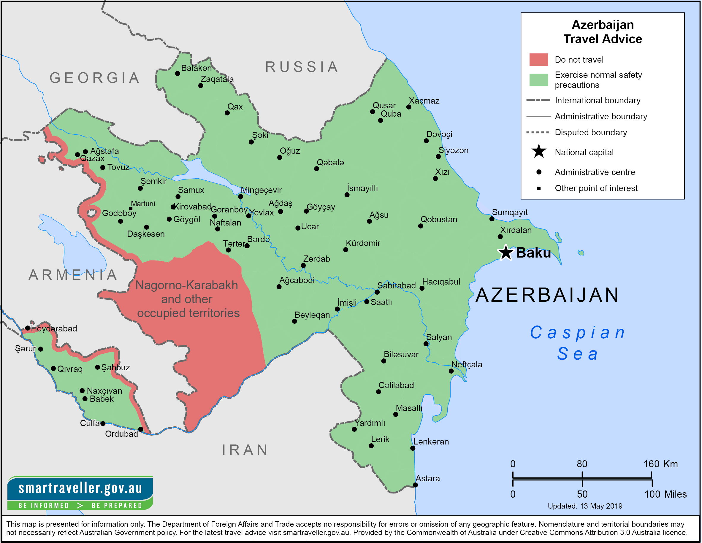 Azerbaijan Traveler Information - Travel Advice