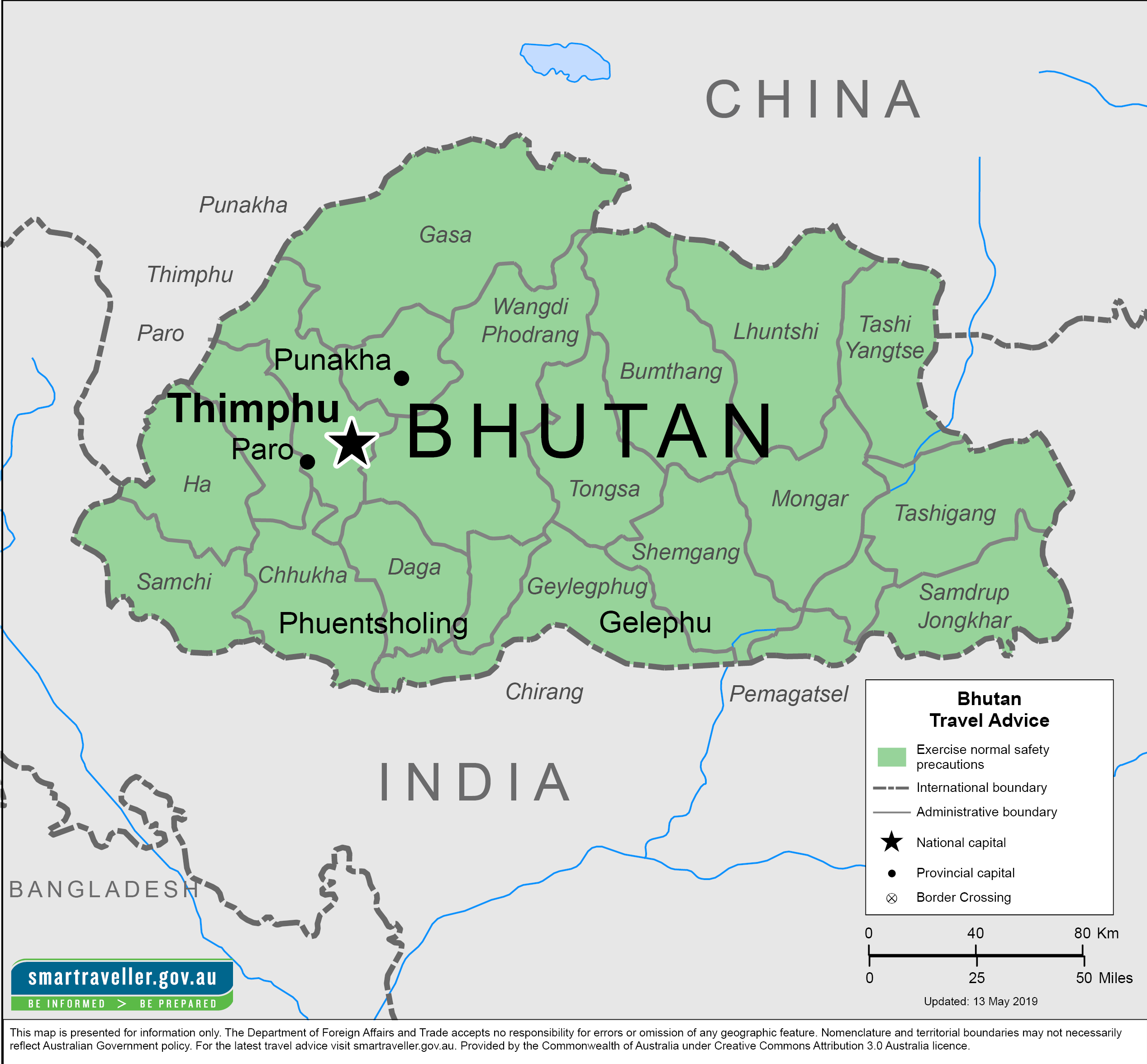 Bhutan Traveler Information - Travel Advice